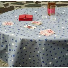 wipe clean tablecloth stars blue grey uk round or