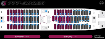 the qr source interactive seat map the qr source has additional seat maps for the 24j 356m and 42j 293m variants configured 3 3 3 in economy