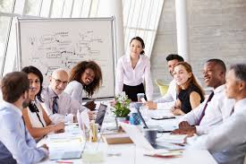 teamwork in the workplace enthusiastic consistent and united effort
