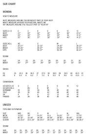 Sand Copenhagen Size Chart Helmut Lang Shop Clothing Fragrance Shoes And