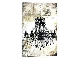 chandelier wall art