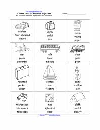 Math Worksheets Free Esl Adjectives And Nouns Possessive For ...