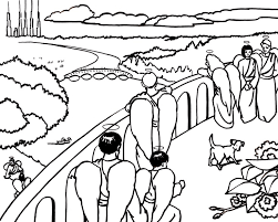 Small Picture Heaven Coloring Page Free Download
