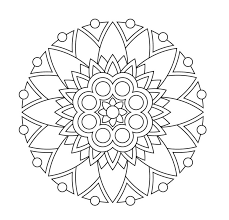 Coloring Pages Ideas Flower Mandala Coloring Pages To Print For