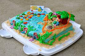 Ariel Cake Decorations Easy Little Mermaid Cake The Restaurant Fairys Kitchen