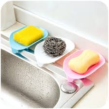 kitchen dish soap brilliant on kitchen 4 color soap dish saver holder tray bathroom drying 30