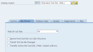 Standard Costing Formula Chart Sap Controlling Product Costing Part 1 Sap Blogs