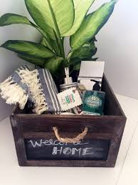DIY Housewarming Gifts   Housewarming Gift In A Crate  Best Do It Yourself  Gift Ideas