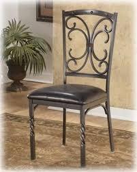 rot iron furniture. Brindleton Brown Dining Uph 4 Side Chairs Rot Iron Furniture