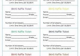 Avery Raffle Ticket Templates Ticket Maker Template Free