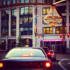 cleveland downtown richland county ohio worlds largest outdoor chandelier localgem