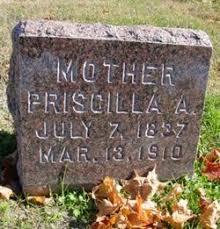 Priscilla A Chapman (1837-1910) - Find A Grave Memorial
