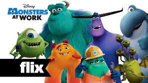 Disney Pixar - Monsters At Work - Meet ...