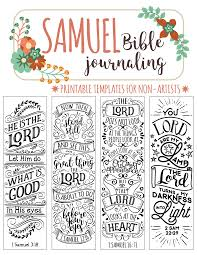 Art For Non Artists Samuel Printable Bible Journaling Templates For Non Artists Just
