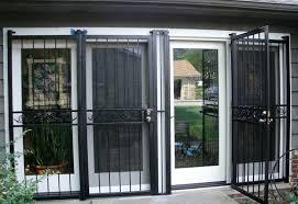 security door sliding glass cleveland security storm door