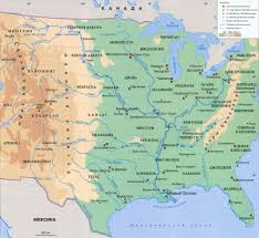 Река Миссисипи Описание характеристика фото видео реки  Миссисипи на карте