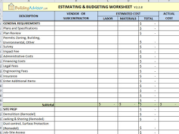 cost spreadsheet for building a house the top 6 free construction estimate templates capterra blog