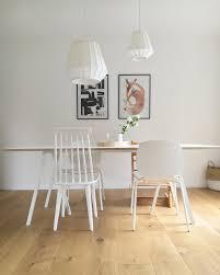 Esszimmer Esstisch Hängelampe Hay Ikea Stuhl