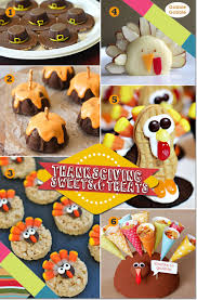 Thanksgiving party sweets for kids