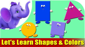 shapes and colors for toddlers. Wonderful Shapes Letu0027s Learn Shapes U0026 Colors  Preschool Learning For And Toddlers