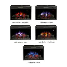 classicflame spectrafire plus electric insert and remote media fireplace log inserts control industrial stand duraflame infrared