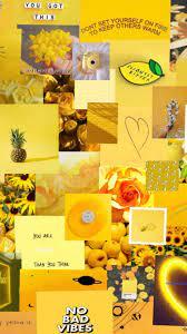 Yellow Aesthetic Wallpaper ...