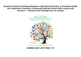 Amazon Charts Including Students With Special Needs A