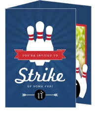 Bowling Party Invitations Custom Bowling Party Invites And Custom Bowling Tournament Invites
