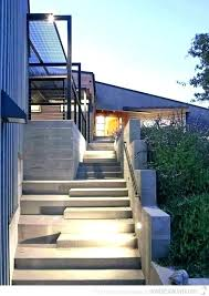 the most durable sy type of outdoor staircase design steps railing designs