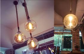 glass ball lighting. Kiven Glass Rope Globe Shape Pendant Light Ball Lighting Mondern  Ceiling Lights, - Online Shopping Glass Ball Lighting P
