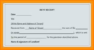 House Rent Receipt Template Simple 4848 Housing Rent Receipt Format Lawrencesmeats