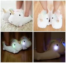 Kids Light Up Unicorn Slippers Unicorn Light Up Slippers Be A Fun Mum