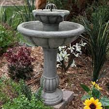 solar fountain water fountains outdoor