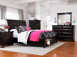 Black White And Pink Bedroom Decorating Ideas Home Design