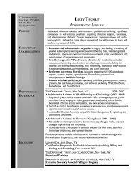 Secretary Resume Example - Sample