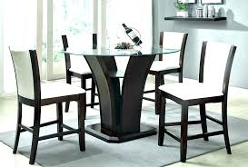 three piece dining table set round pub table sets glass top pub table best glass top