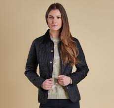 up to 65% off Barbour Summer Liddesdale Quilted Jacket Womens ... & Barbour Summer Liddesdale Quilted Jacket Womens Quilted Jackets -  Black/Turf - TR87785497 larger image Adamdwight.com