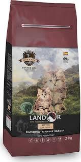 """<b>Корм сухой</b> """"<b>Landor</b>"""", полнорационный, для котят, утка с рисом ..."""