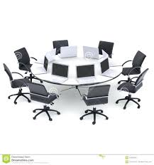 round office tables popular laptops on the office round table and chairs stock ilration round office round office tables