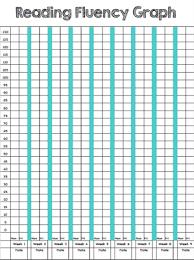 Reading Fluency Progress Chart Template Www