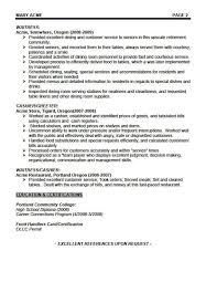 Wait Staff Resume Examples | Graduate Resume Tips Wait Staff Resume Examples Resume Examples O Resumebaking Waitress Resume Examplesregularmidwesterners Resume And Templates