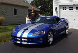2006 Dodge Viper SRT 10 Coupe in Blue with Engine Start Up & Ride ...
