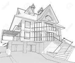 architectural drawings of modern houses. Interesting Modern Simple Dream House Drawing Sketch Intended Architectural Drawings Of Modern Houses A