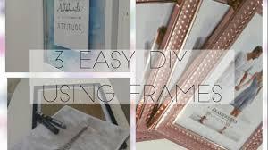 3 easy diy using frames handmade gifts ideas camyll