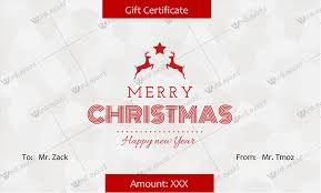 Microsoft Word Gift Certificate Template 30 Christmas Gift Certificate Templates Best Designs Word