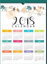2018 Calendar Free Vector Download 1 490 Free Vector For