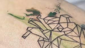 геометрия выполнять подобные тату могут только настоящие