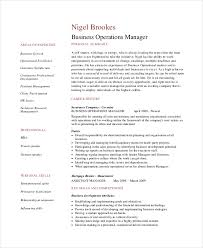 Operations Resume Template Best Of 24 Operations Manager Resume Free Sample Example Format Free
