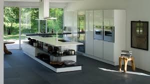 Modern Kitchen Island For Super Modern Kitchen Concept Featuring Two Section Kitchen Island
