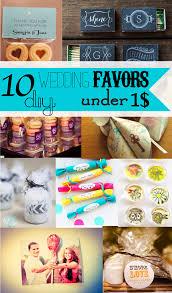 10 diy wedding favors under 1 sohosonnet creative living